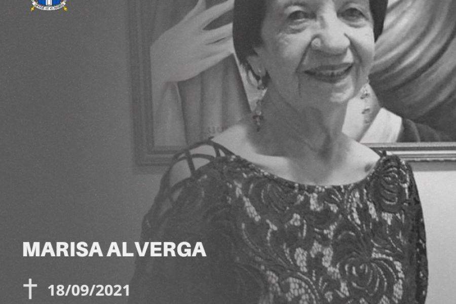 Nota de Pesar – Marisa Alverga
