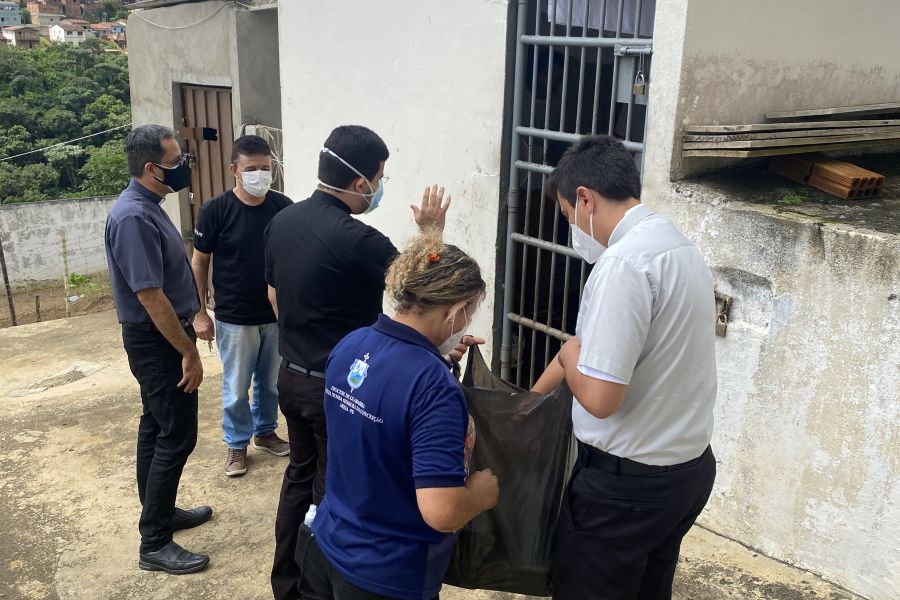 Pastoral Carcerária da Diocese de Guarabira recebe Doação das Irmãs Franciscanas de Dillingen