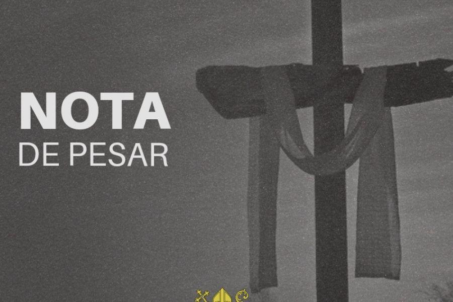 Nota de Pesar – Maria José Gomes Tavares